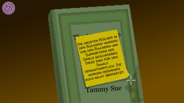 In der Bücherei haben sich einige Unterstützer bereits verewigt. (Screenshot: Golem.de)