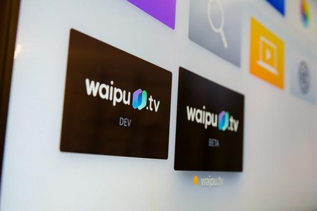 Waipu TV läuft auch schon auf dem Apple TV, ... (Bild: Martin Wolf/Golem.de)