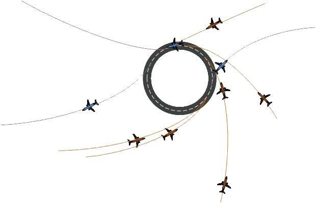 Die Kreisform soll Starts und Landungen direkt gegen den Wind ermöglichen. (Bild: The Endless Runway)