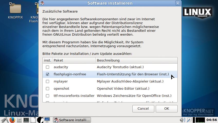 Live-Linux: Knoppix 8.0 bringt moderne Technik für neue Hardware -
