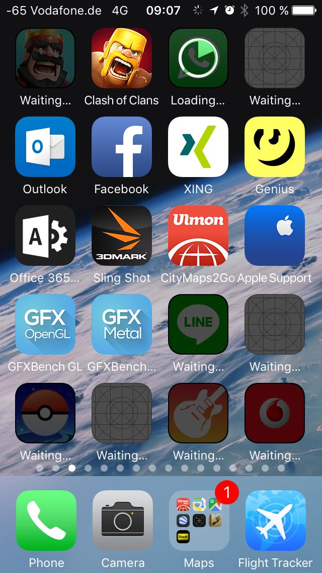 APFS unter iOS 10.3 im Test: Schneller suchen und ein bisschen schneller booten -