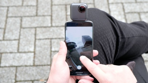 Yoho VR 360-Grad-Kamera (Foto: Michael Wieczorek/Golem.de)