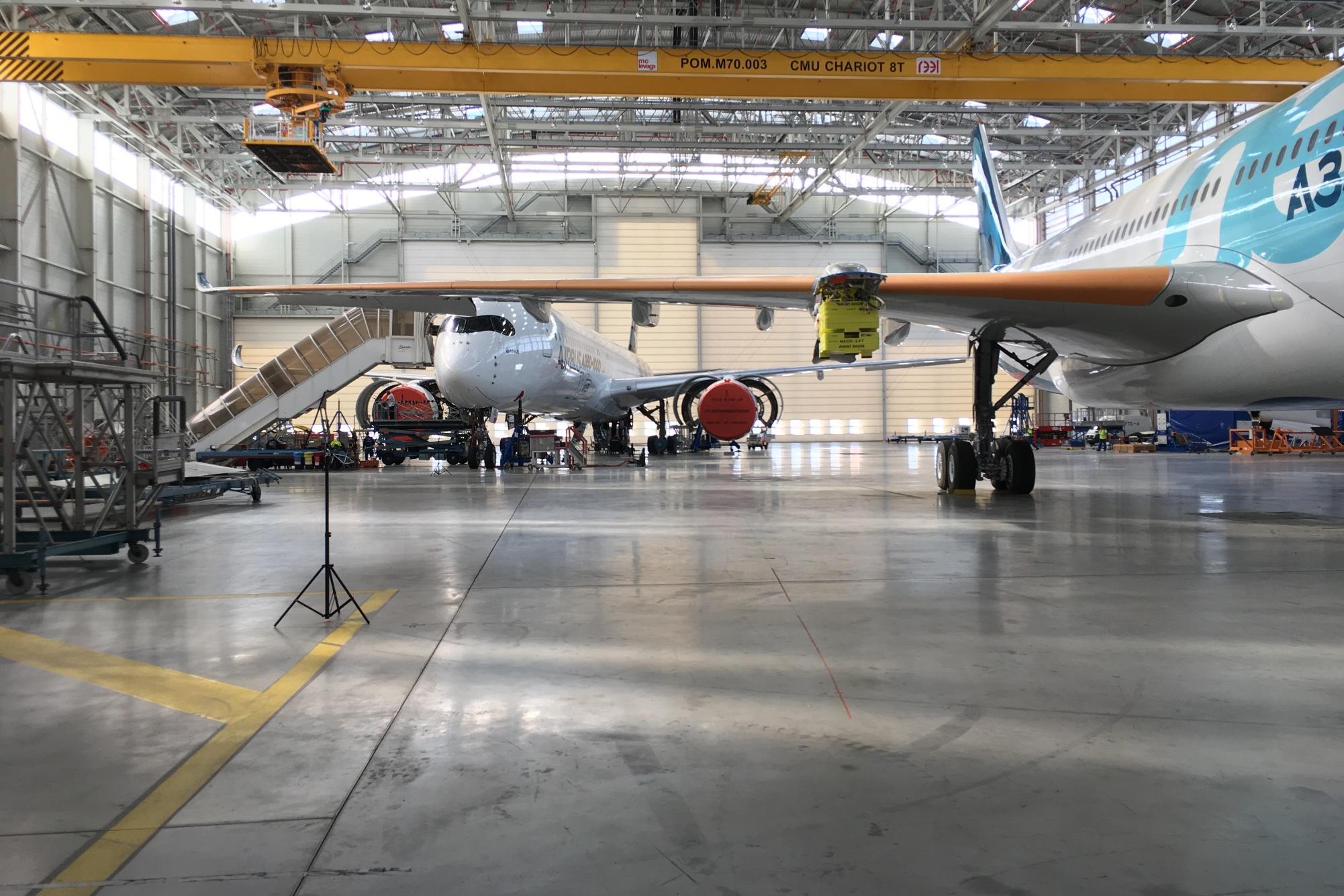 Airbus A350-1000XWB: Ein Blick ins Innere eines Testflugzeugs -