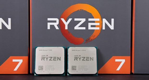 AMDs Ryzen 7 1700X und Ryzen 7 1700 (Foto: Martin Wolf/Golem.de)