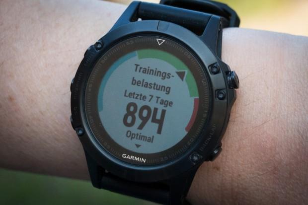 """Im grünen Bereich: Training Load 2.0 sagt, dass ich noch weiter Sport machen """"darf"""". (Foto: Katja Höhne/Golem.de)"""