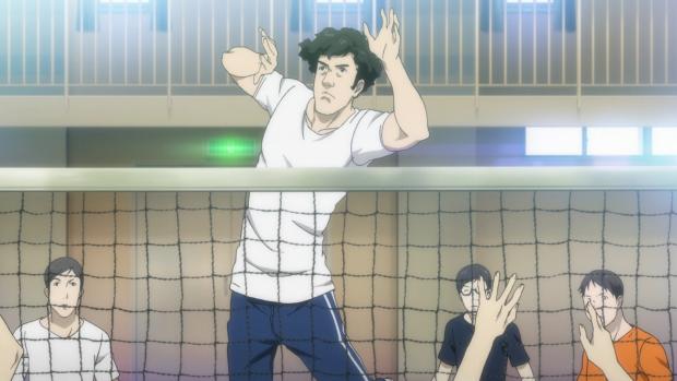 Sportlehrer Kamoshida-san in einer animierten Zwischensequenz ... (Screenshot: Golem.de)