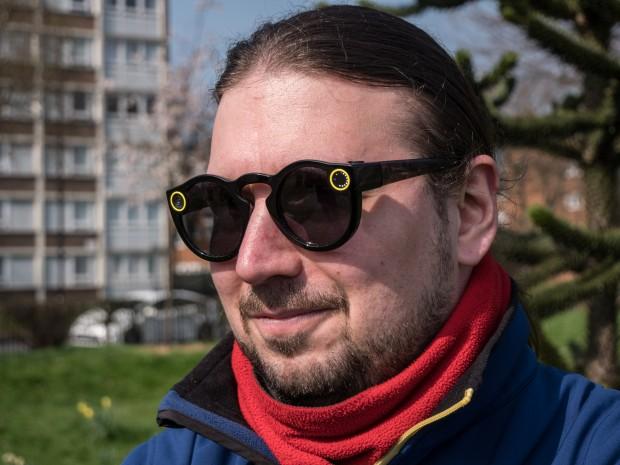 Nicht jedem steht Snaps Kamerabrille ... (Bild: Martin Wolf/Golem.de)