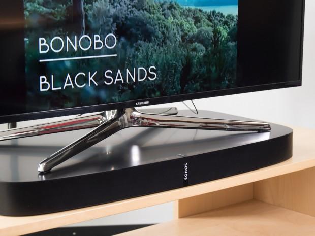 Die Playbase von Sonos (Bild: Martin Wolf/Golem.de)
