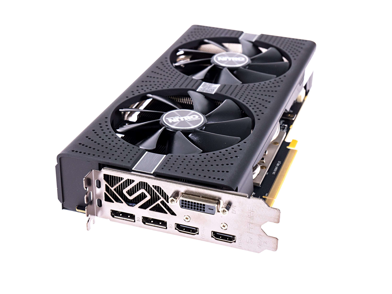 Radeon RX 580 und RX 570 im Test: AMDs Grafikkarten sind schneller und sparsamer - Sapphire Radeon RX 580 Nitro+ 8G (Foto: Martin Wolf/Golem.de)