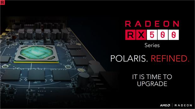 Die RX 500 basieren auf Polaris-Technik. (Bild: AMD)