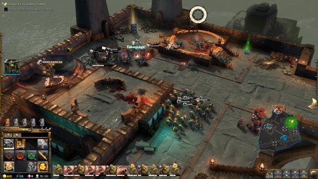 Die detailreiche Grafik auf den Schlachtfeldern macht einen guten Eindruck. (Screenshot: Golem.de)