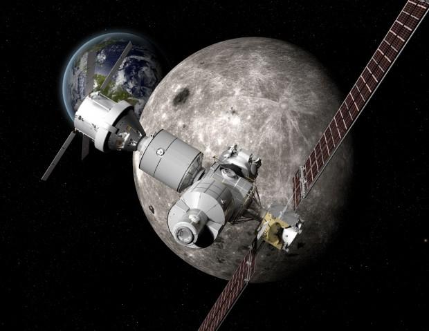 Deep Space Gateway wird eine Raumstation, die in den 2020er-Jahren aufgebaut werden soll. (Bild: Boeing)