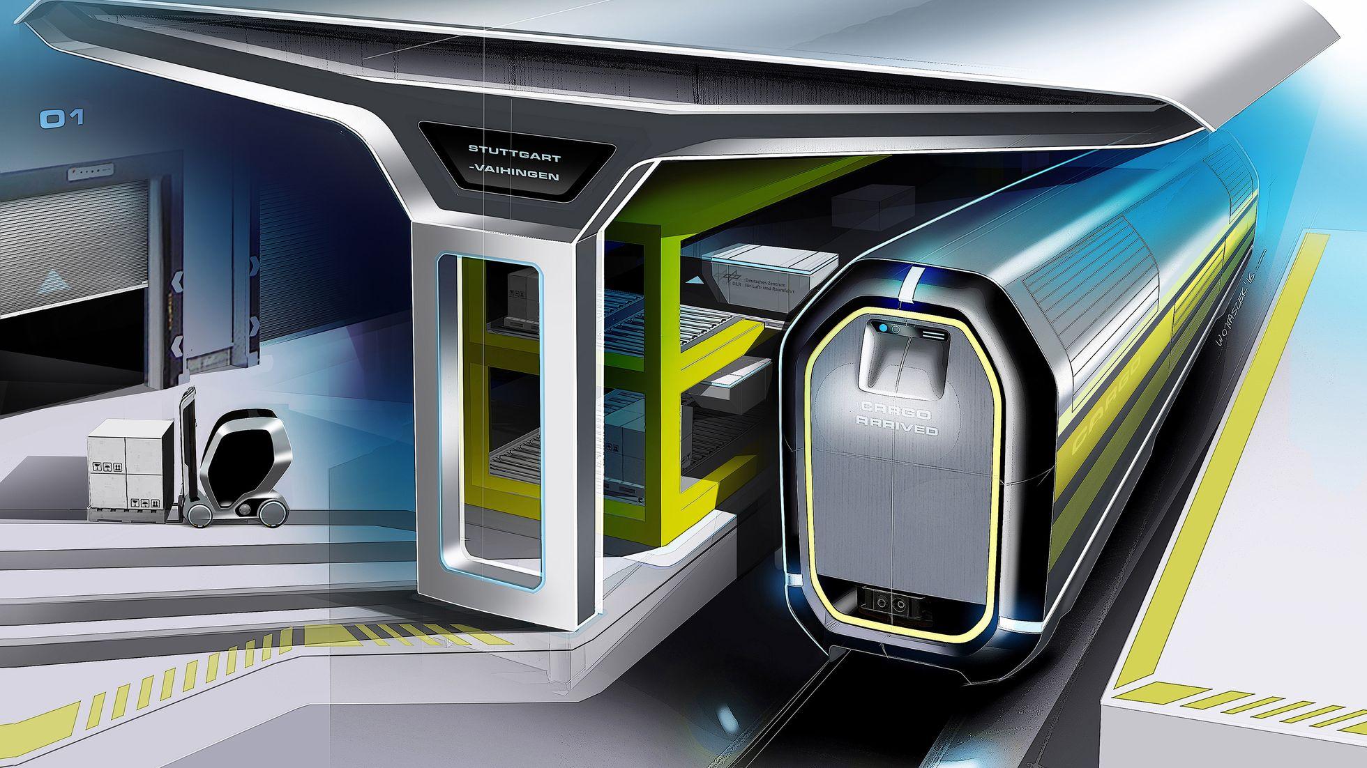 Transport: Der Güterzug der Zukunft ist ein schneller Roboter -