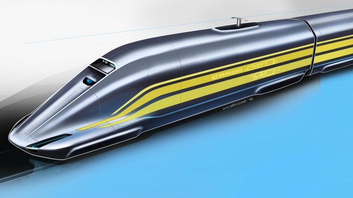 Eher ICE als Güterzug: der NGT Cargo (Bild: DLR)