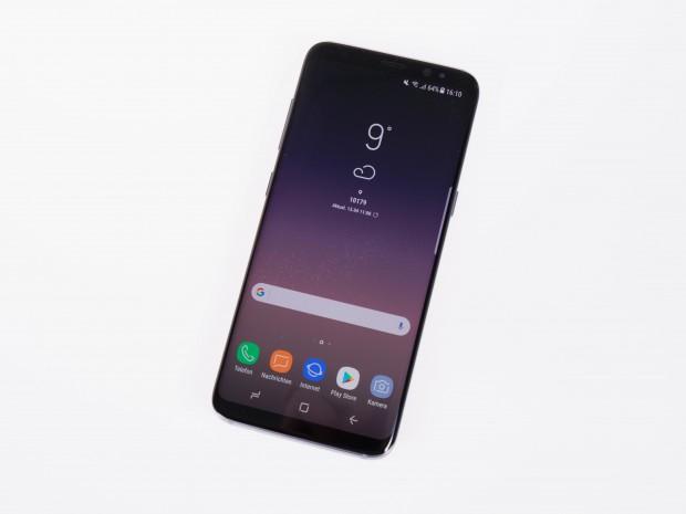 Das Galaxy S8 von Samsung (Bild: Martin Wolf/Golem.de)