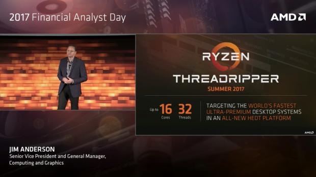 Threadripper weist 32C/64T auf. (Bild: AMD)