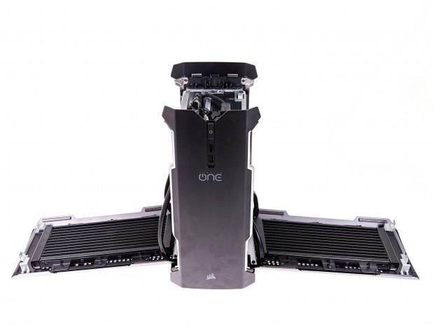 Der One Pro nutzt zwei Radiatoren. (Foto: Martin Wolf/Golem.de)