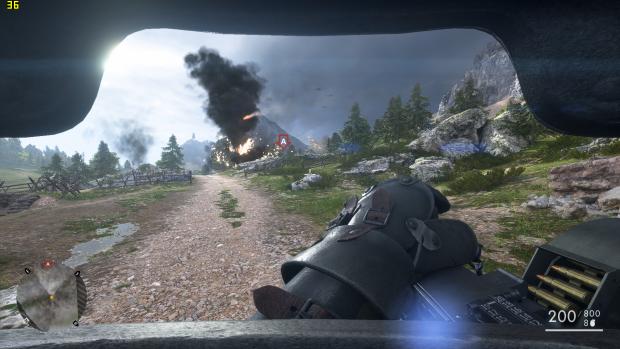 Battlefield 1 mit mittleren Details (Rechteinhaber: Dice/Screenshot: Golem.de)