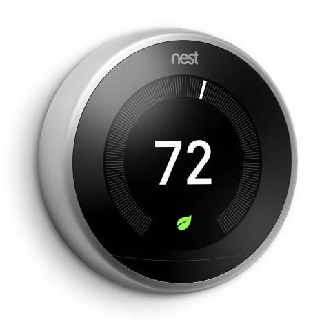 smart home nest bringt thermostat ende 2017 nach deutschland. Black Bedroom Furniture Sets. Home Design Ideas