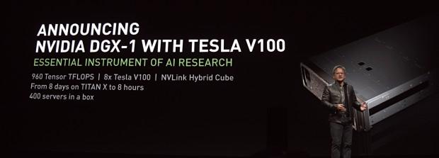 Nvidia zeigt Volta-basiertes DGX-1. (Bild: Marc Sauter/Golem.de)