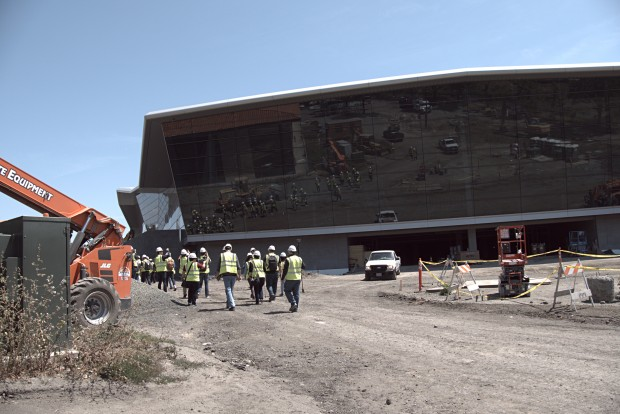 Nvidias neues Hauptquartier (Foto: Marc Sauter/Golem.de)