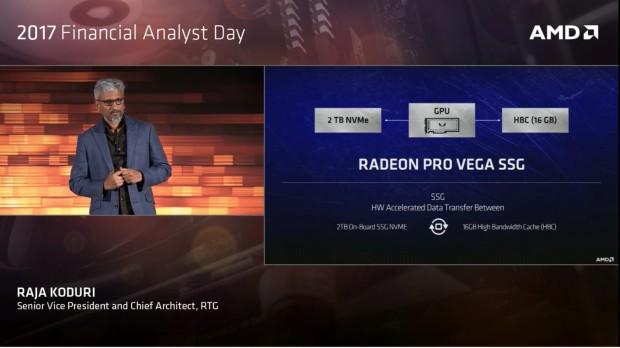 Radeon Pro Vega SSG (Bild: AMD) (Bild: AMD)