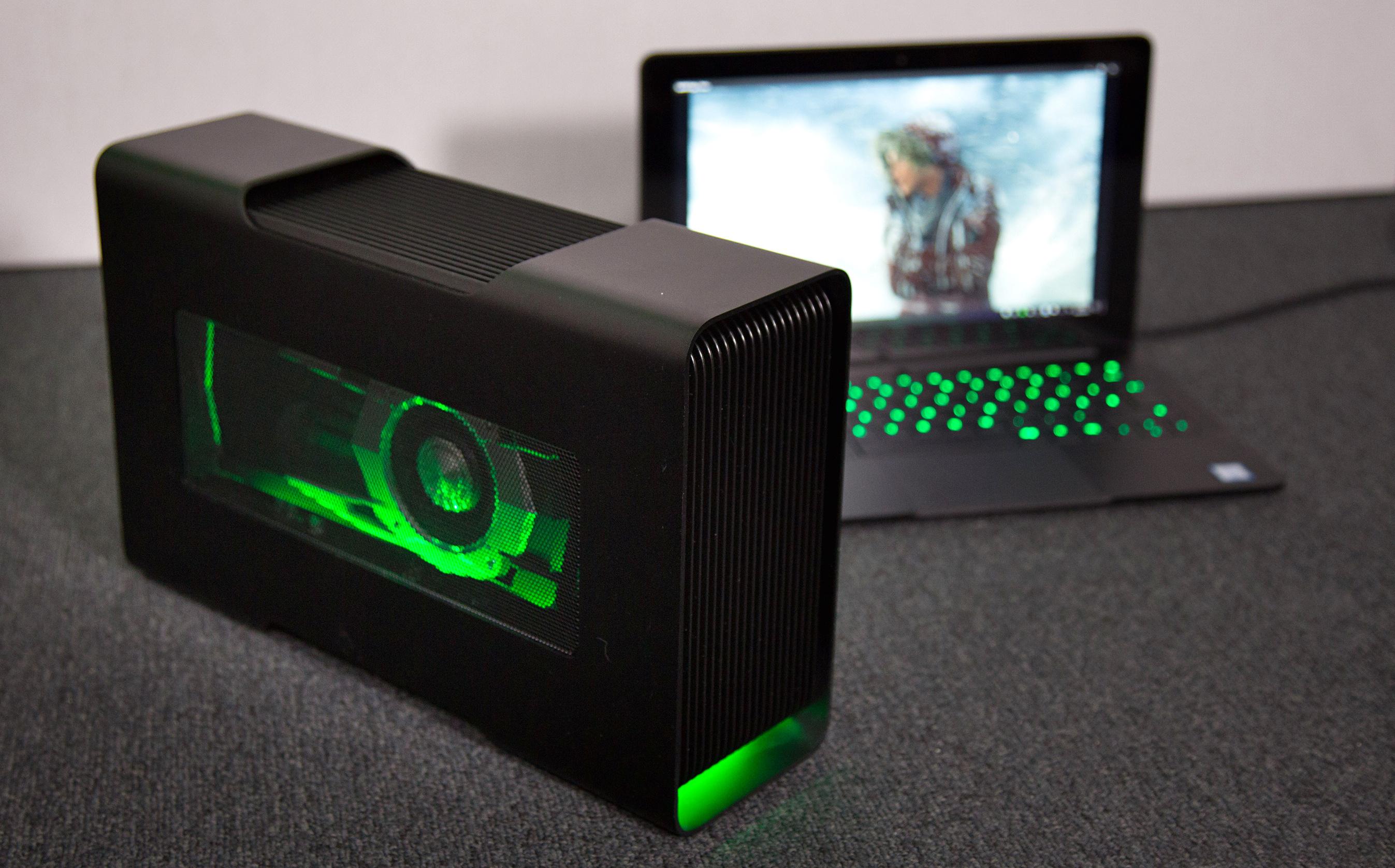 Razer Core im Test: Grafikbox + Ultrabook = Gaming-System -  (Foto: Martin Wolf/Golem.de)