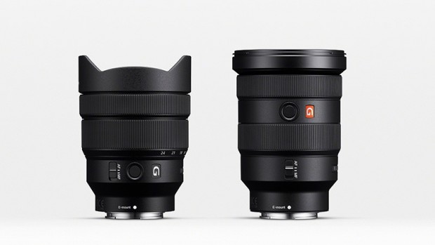 Sony FE 16-35mm F2.8 GM (recht) und Sony FE 12-24mm F4 G (links)