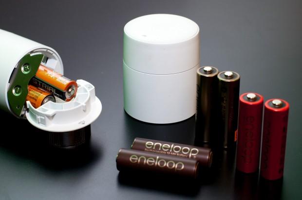Eines von vier Thermostaten hat Probleme mit unseren Eneloop-Akkus.(Foto: Andreas Sebayang/Golem.de)