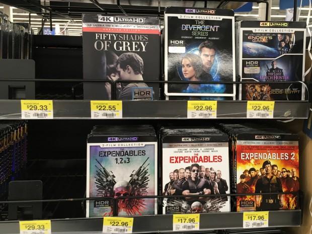 Die Preise sind in den USA recht deutlich gesunken, wie hier in einem Walmart. (Foto: Andreas Sebayang/Golem.de)