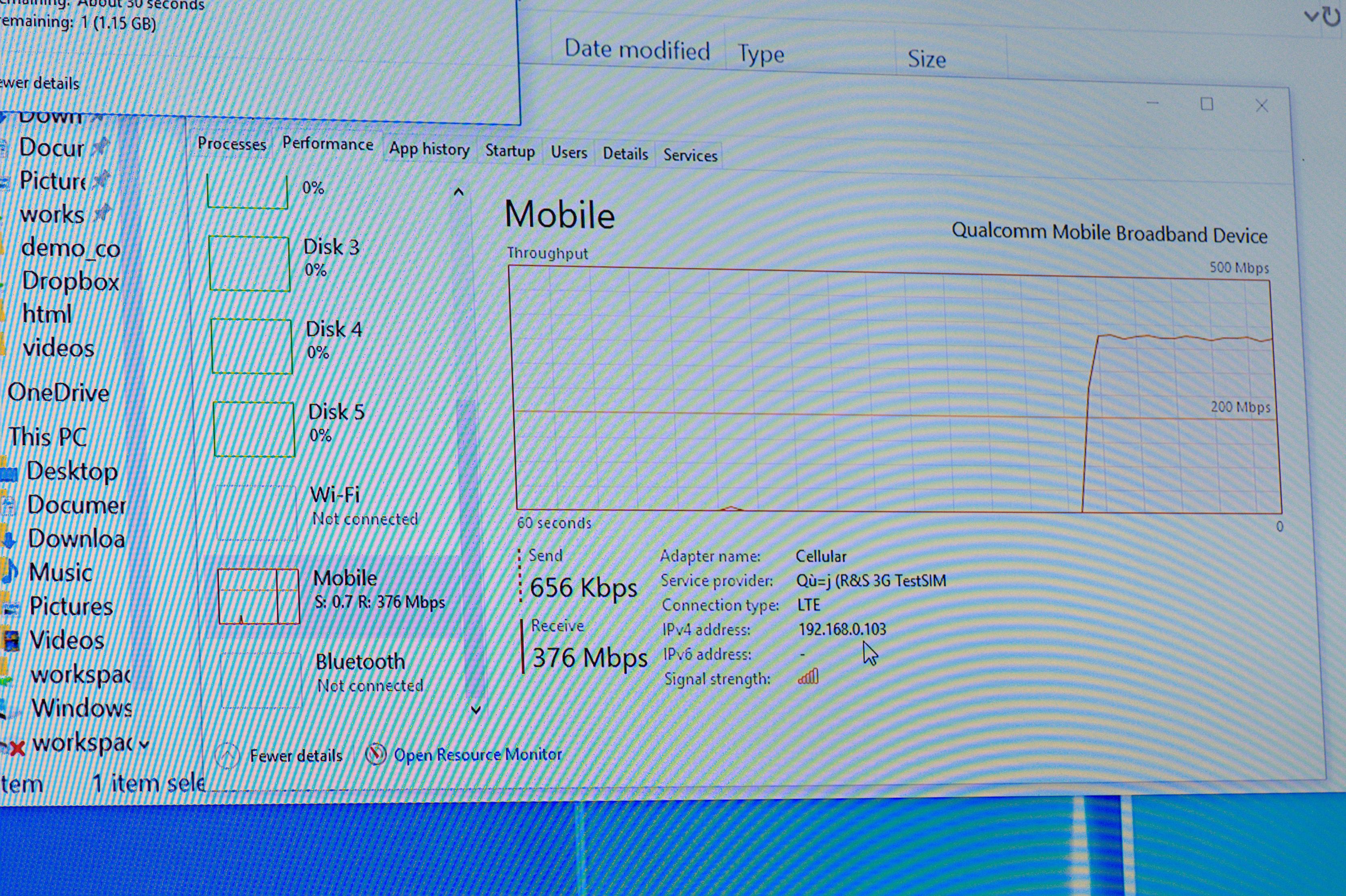 Always Connected PC: Windows 10 on ARM soll Intels x86-Ultrabooks übertreffen - Der Snapdragon 835 hat integriertes LTE. (Foto: Andreas Sebayang/Golem.de)
