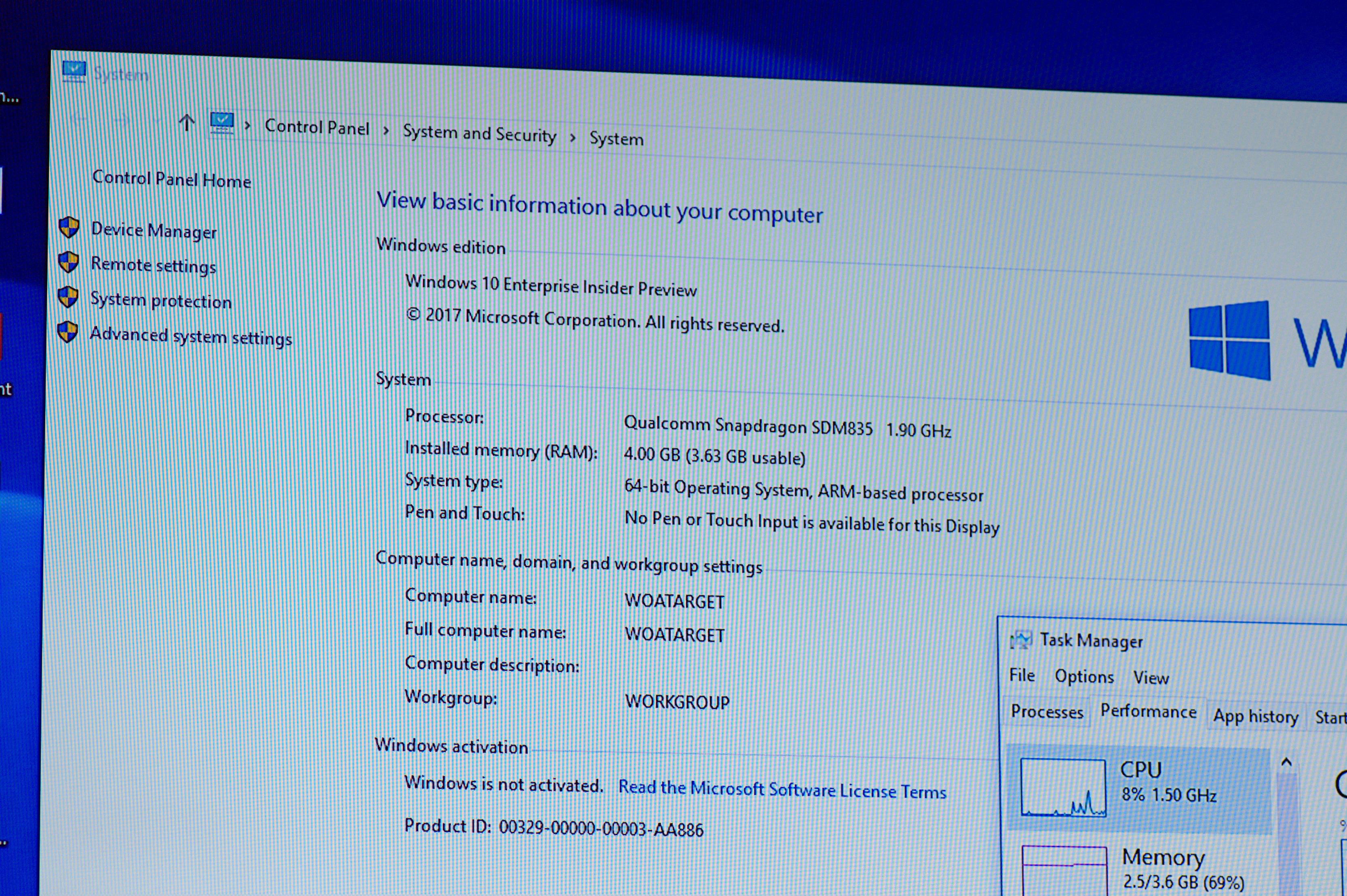 Always Connected PC: Windows 10 on ARM soll Intels x86-Ultrabooks übertreffen - Trotz 64-Bit-OS laufen keine x64-Apps. (Foto: Andreas Sebayang/Golem.de)