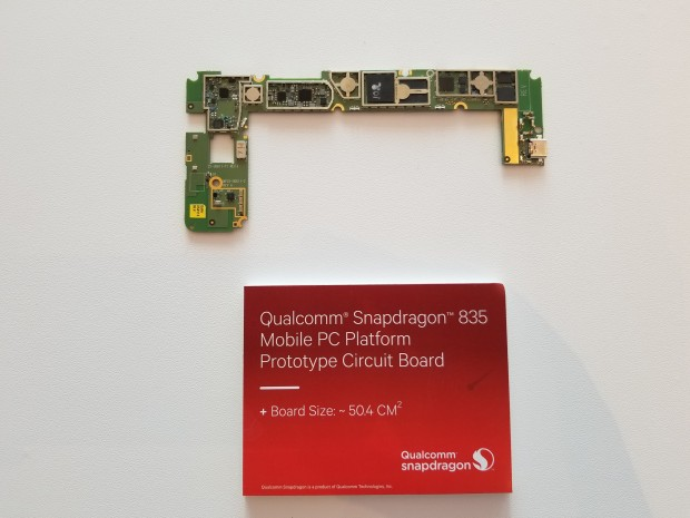 Platine mit Qualcomms SD835-Plattform (Foto: Qualcomm)