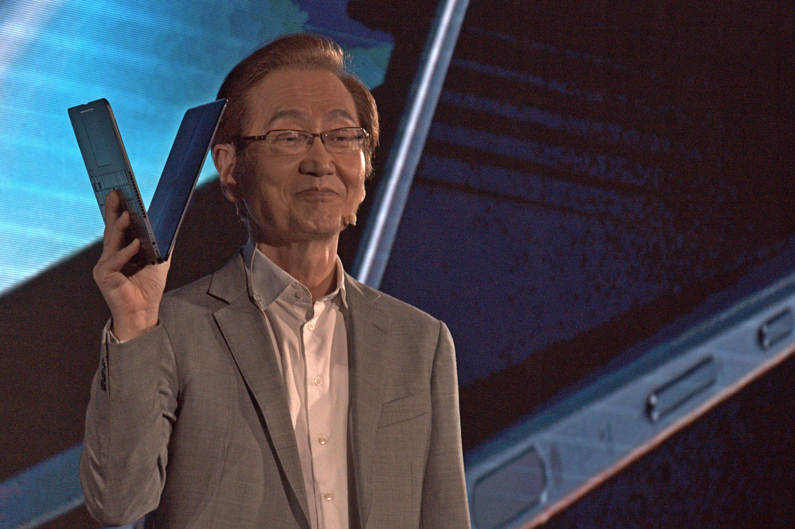 Asus: Das Zenbook Flip S ist 10,9 mm flach - Das Convertible ... (Foto: Marc Sauter/Golem.de)