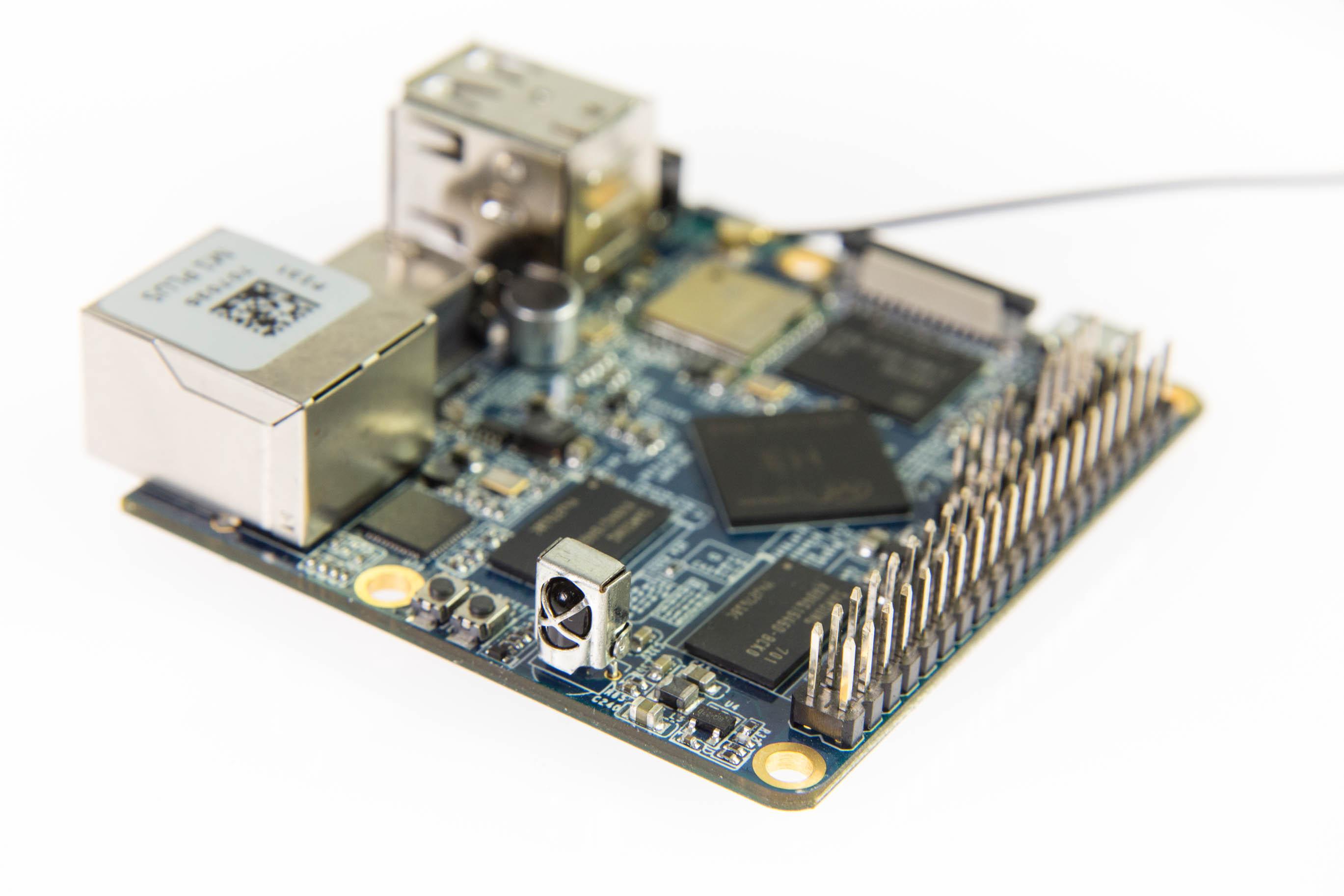 Bastelrechner Nano Pi im Test: Klein, aber nicht unbedingt oho - Nano Pi M1+ (Bild: Martin Wolf/Golem.de)