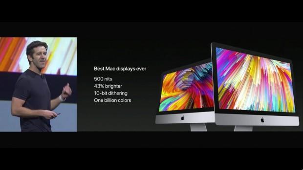 Präsentation des iMac [Mid 2017] (Bild: Apple/Screenshot: Golem.de)