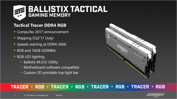 Ballistix Tactical Tracer (Bild: Crucial)