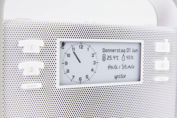 Inhalte auf dem E-Paper-Display im Triby sind gut zu erkennen. (Bild: Martin Wolf/Golem.de)