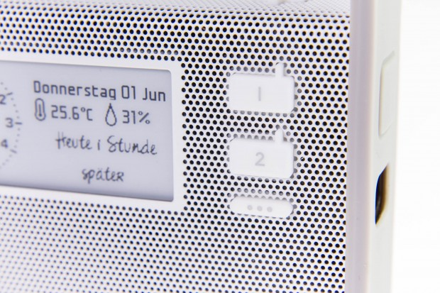 Mit diesen Tasten können gezielt Radiosender aktiviert werden. (Bild: Martin Wolf/Golem.de)