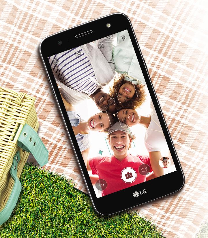 X Power 2: LGs Smartphone mit langer Laufzeit kostet 300 Euro - Das X Power 2 von LG (Bild: LG)