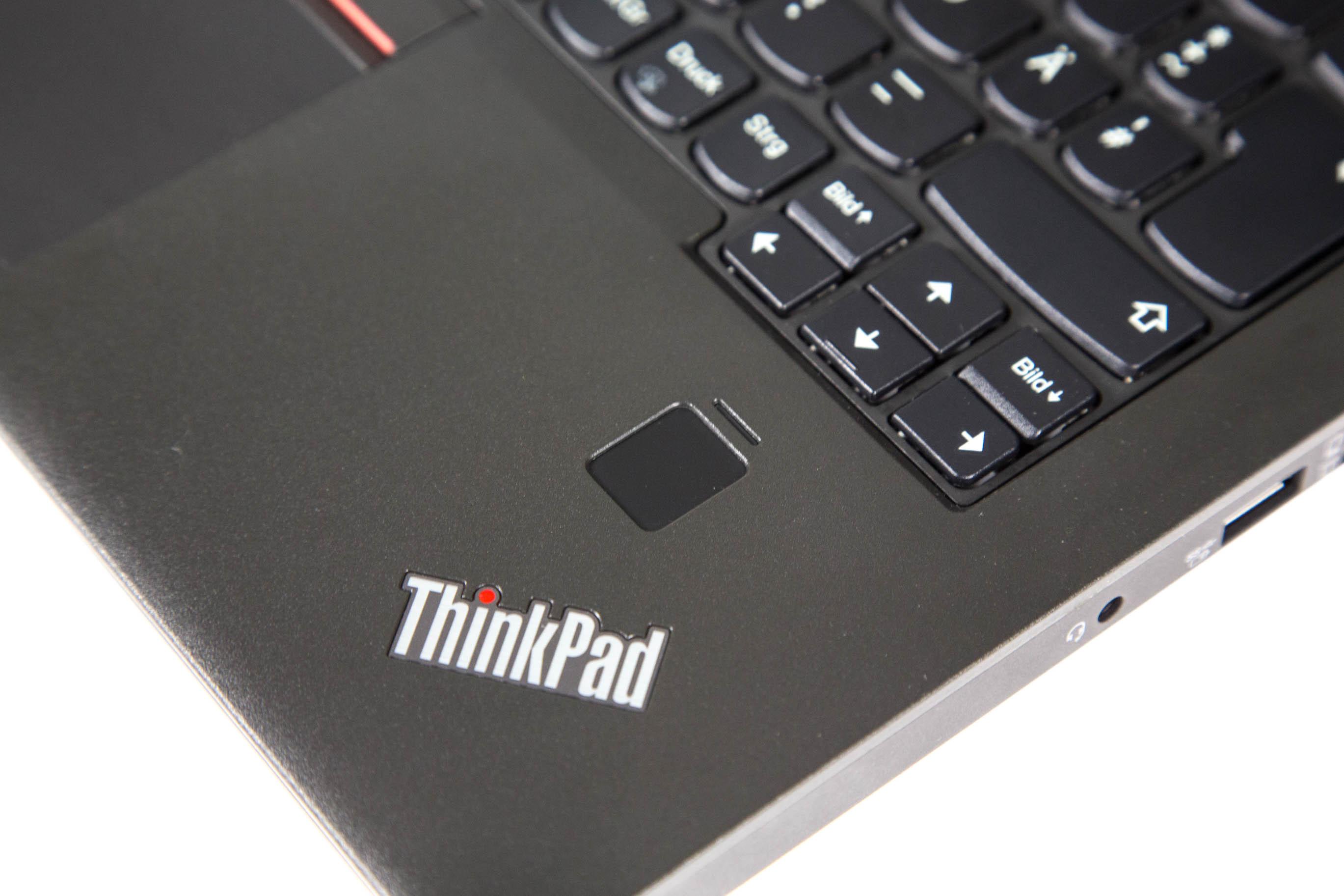 Thinkpad X270 im Test: Lenovos neuer alter Klassiker hat es immer noch drauf - Der Fingerabdruckscanner (Bild: Martin Wolf/Golem.de)