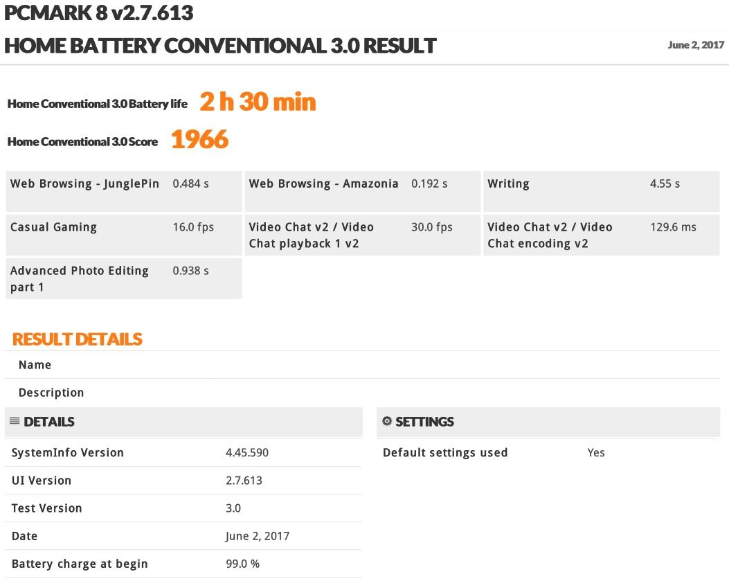 Thinkpad X270 im Test: Lenovos neuer alter Klassiker hat es immer noch drauf - Ohne Extraakku ist schnell Schluss. (Screenshot: Oliver Nickel/Golem.de)