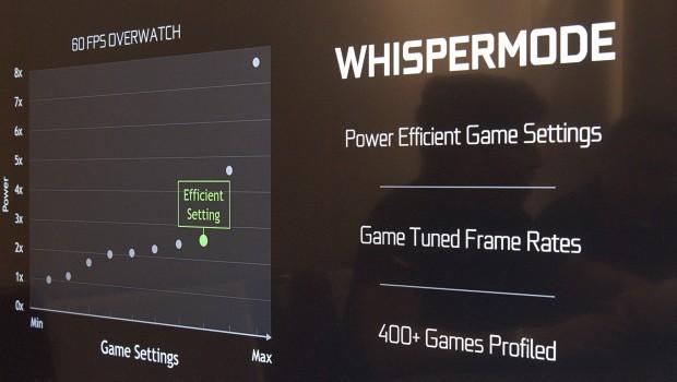Der Whisper Mode optimiert Einstellungen auf Energieeffizienz. (Foto: Marc Sauter/Golem.de)