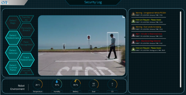 Kamerabild aus dem OTSAW O-R3 (Bild: OTSAW)