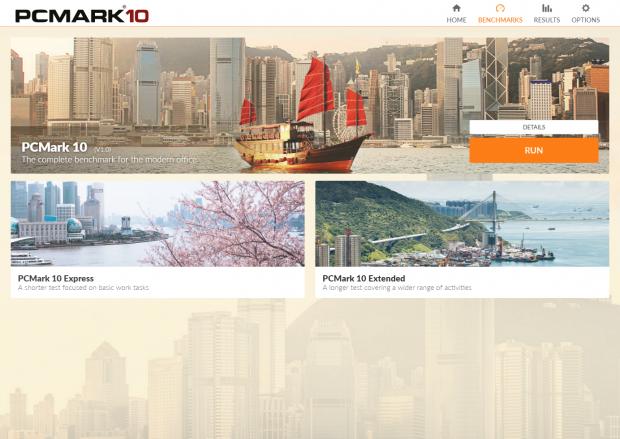 PCMark 10 (Rechteinhaber: Futuremark; Screenshot: Marc Sauter/Golem.de)