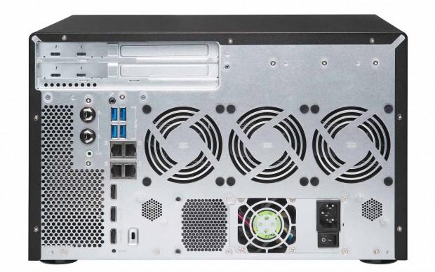 Das NAS-System mit Thunderbolt ... (Bild: Qnap)