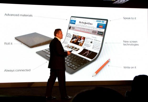Studie eines Lenovo-Thinkpads (Bild: Lenovo/Foto: Nico Ernst)