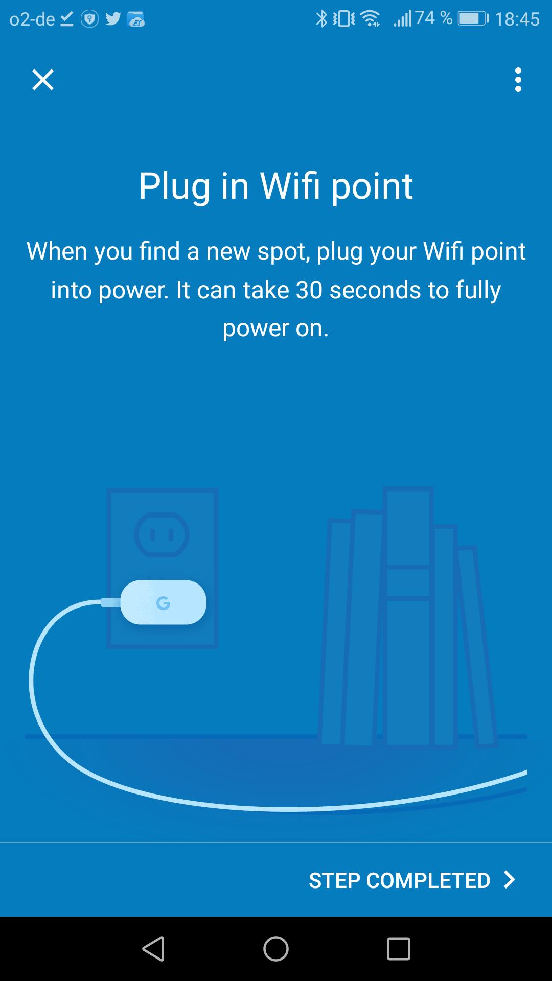 Google Wifi im Test: Google mischt mit im Mesh - ... wartet vor einem erneuten Test, bis der Node an seinem neuen Platz steht. (Google/Screenshot: Golem.de)