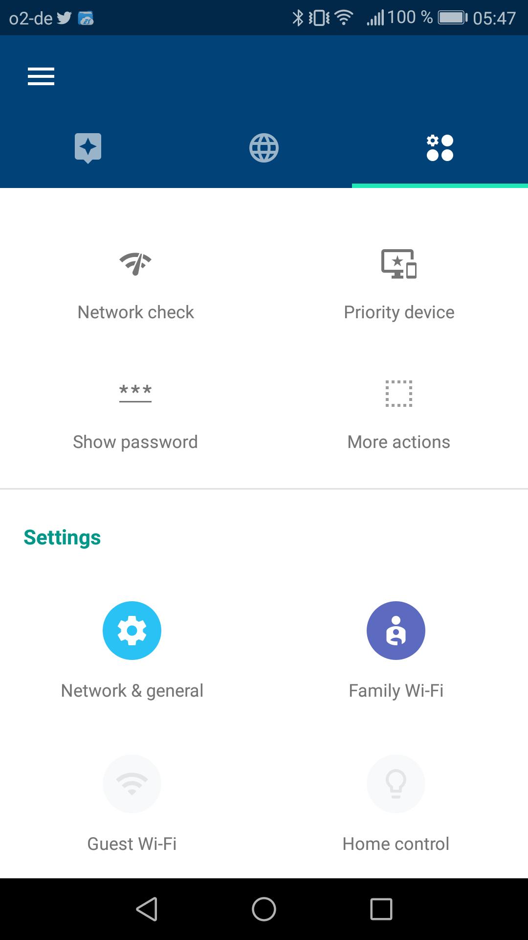 Google Wifi im Test: Google mischt mit im Mesh - Die App bietet auch weitere Einstellungen und ... (Google/Screenshot: Golem.de)