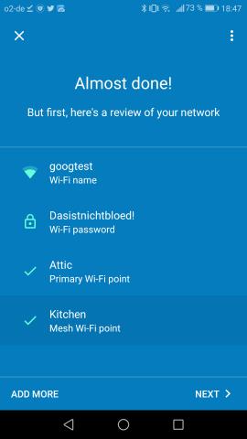 Anschließend erscheint ein Überblick über das neue Netzwerk. (Google/Screenshot: Golem.de)